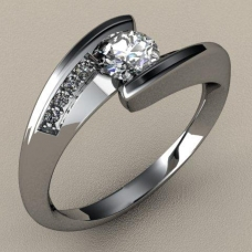Sužadėtuvių žiedas Nr. S-02