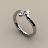 Sužadėtuvių žiedas Nr. S-03