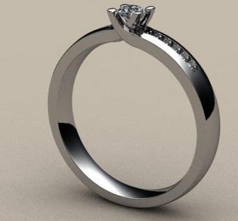 Sužadėtuvių žiedas Nr. S-04