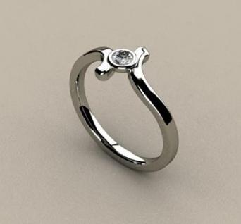 Sužadėtuvių žiedas Nr. S-06