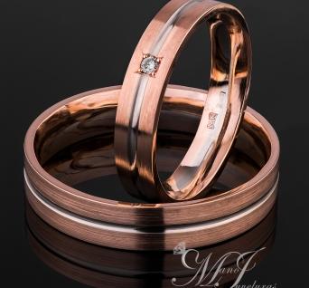 Vestuviniai žiedai Nr. R-122