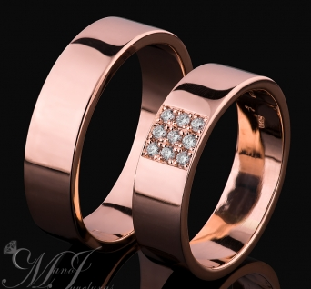Vestuviniai žiedai Nr. R-128