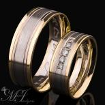 Vestuviniai žiedai Nr. R-129