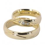 Vestuviniai žiedai Nr. R-27