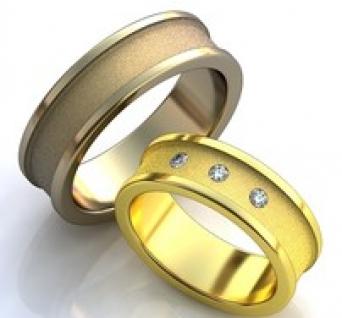 Vestuviniai žiedai Nr. R-76
