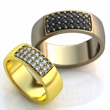 Vestuviniai žiedai Nr. R-81