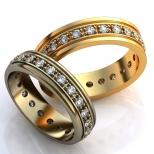 Vestuviniai žiedai Nr. R-83