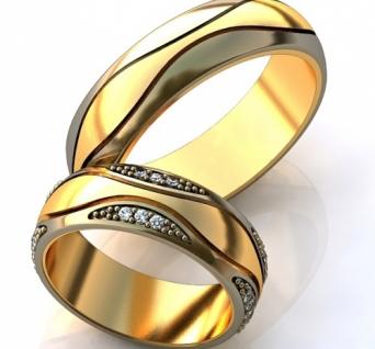 Vestuviniai žiedai Nr. R-85