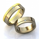 Vestuviniai žiedai Nr. R-86