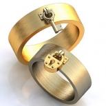 Vestuviniai žiedai Nr. R-88