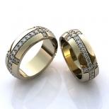 Vestuviniai žiedai Nr. R-90